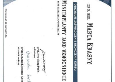 Krasny Marta certyfikat1
