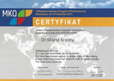 Krasny Marta certyfikat2