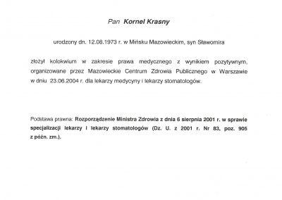 dr hab. n. med. Kornel Krasny (149)