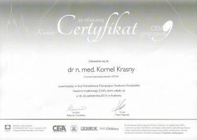 dr hab. n. med. Kornel Krasny (72)