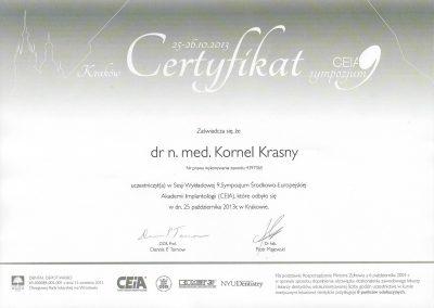 dr hab. n. med. Kornel Krasny (73)