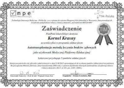 dr hab. n. med. Kornel Krasny (76)