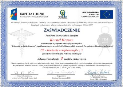 dr hab. n. med. Kornel Krasny (78)