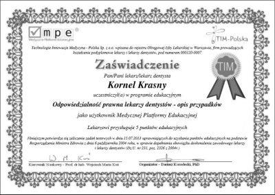 dr hab. n. med. Kornel Krasny (85)