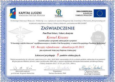 dr hab. n. med. Kornel Krasny (87)