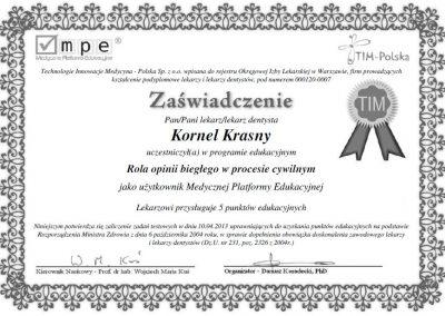 dr hab. n. med. Kornel Krasny (91)