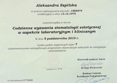 Aleksandra Szpilska (20)
