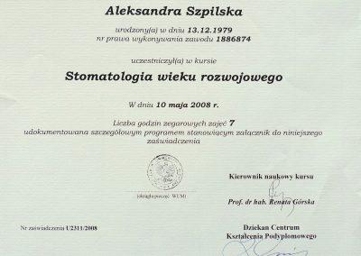 Aleksandra Szpilska (21)