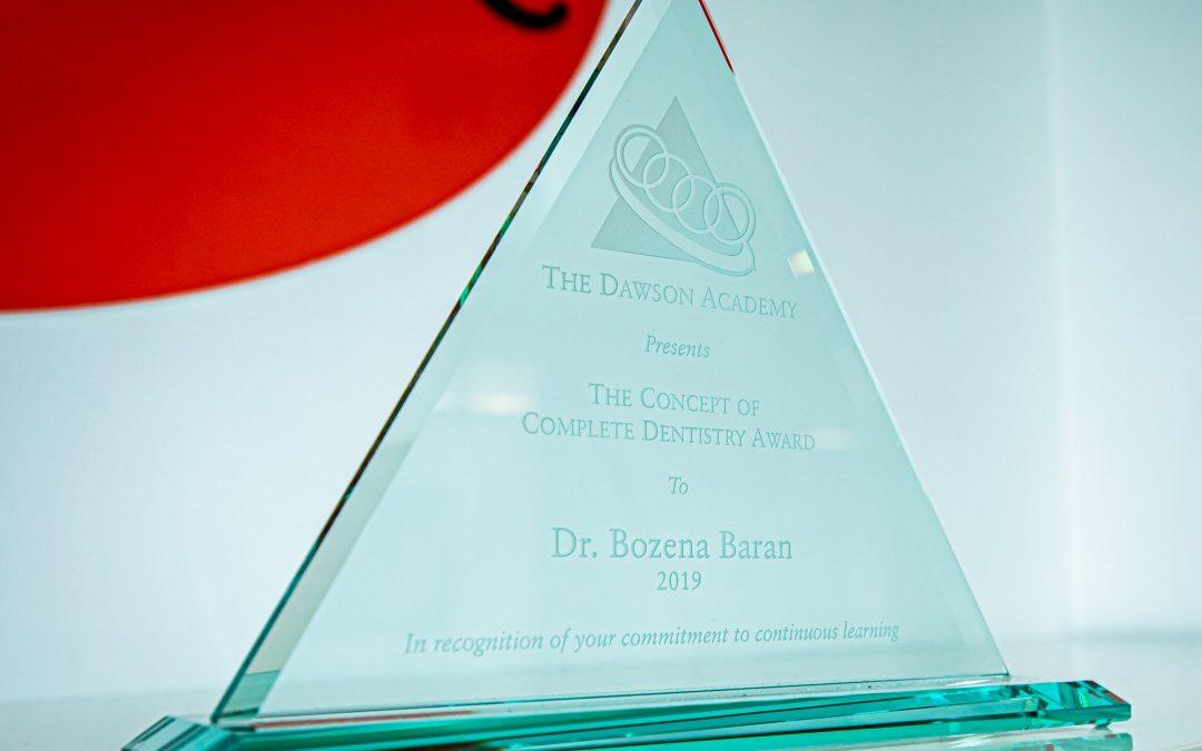 Nasza lekarka Bożena Baran ukończyła Akademię Dawsona