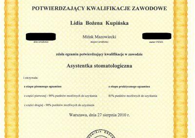 Medicare Lidia Kupinska Minsk Mazowiecki dentysta