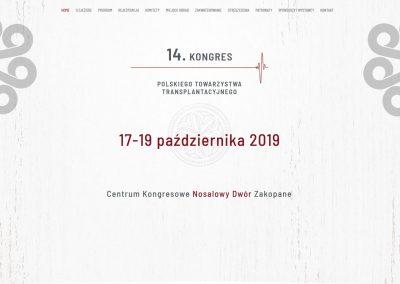 14 Kongres Polskiego Towarzystwa Transplantacyjnego - Krasny MEDICARE