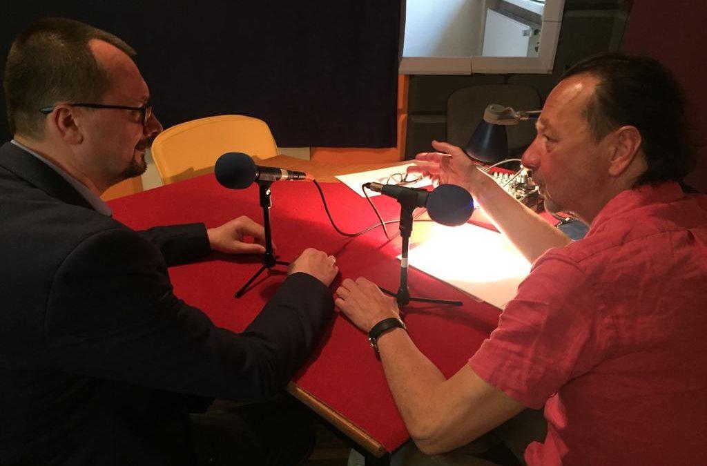 Doc. Kornel Krasny z dyrektorem OSIS dr Witoldem Tomkiewiczem nagrali kolejny podkast. Tym razem o aspekcie prawnym w leczeniu stomatologicznym