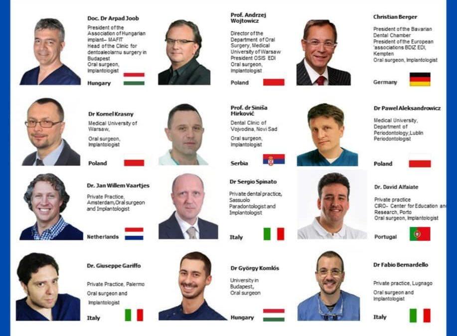 W tym roku spotkania – European Association of Dental Implantologists EDI organizowane przez Serbian Association of Dental Implantologists – będziemy mogli podzielić się również naszymi doświadczeniami implantologicznymi