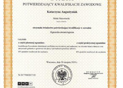 Katarzyna Augustyniak MEDICARE Mińsk Mazowiecki